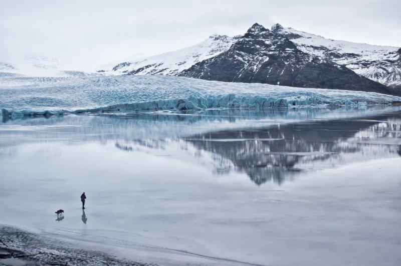 White - Fjallsárlón, Iceland