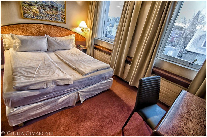 My room at Hotel Holt, Reykjavik