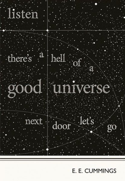 The Universe is good. There's no such thing as strangers.