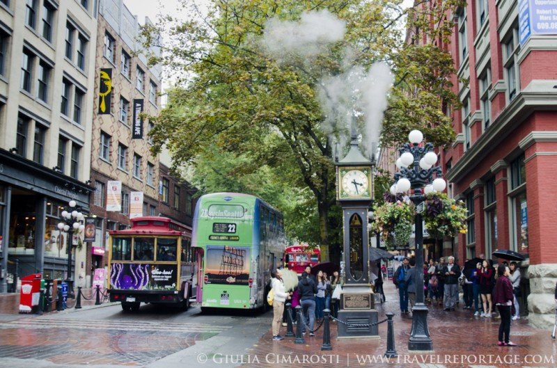 The Steam Clock in Gastown