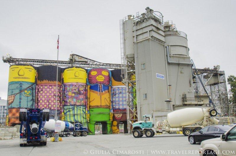 Street Art in Granville Island