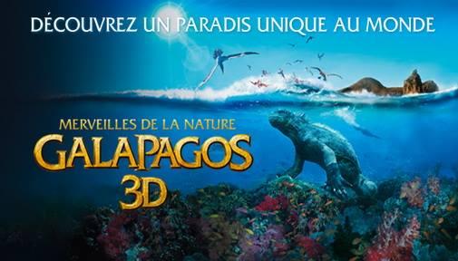 Galapagos 3d at IMAX Montreal