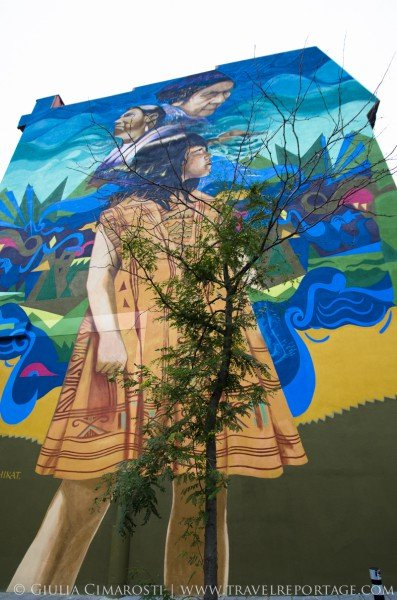 "Montreal-street-art-giulia-cimarosti-5 ""Generations"" by Gene Pendon, 2014"
