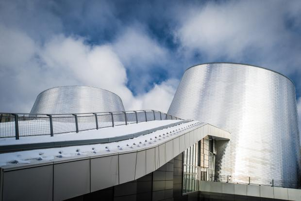 The Planetarium as seen from the outside (photo courtesy Espace Pour La Vie)