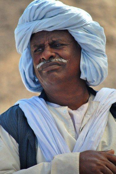 Egypian tribesman - © Giulia Cimarosti