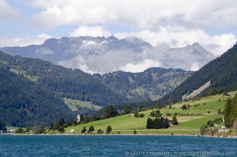 Val Venosta - Vinschgau Valley - Border with Austria