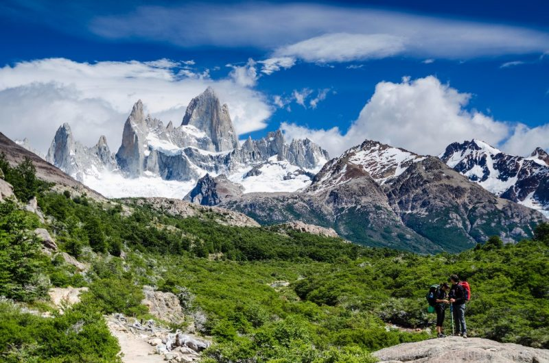 Hiking the Fitz Roy range