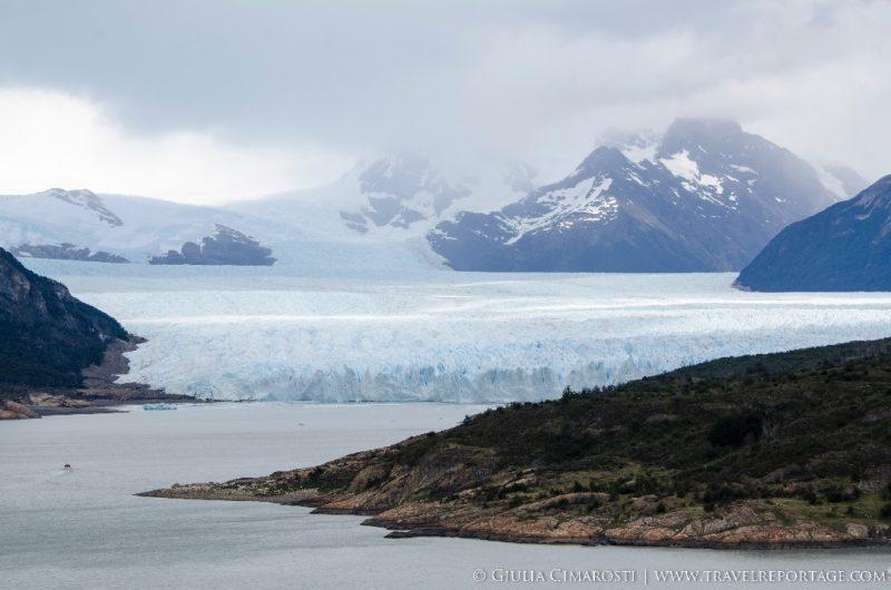 Perito Moreno Glacier at first sight