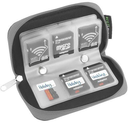 Travel Photography Gear: SD Card Organizer