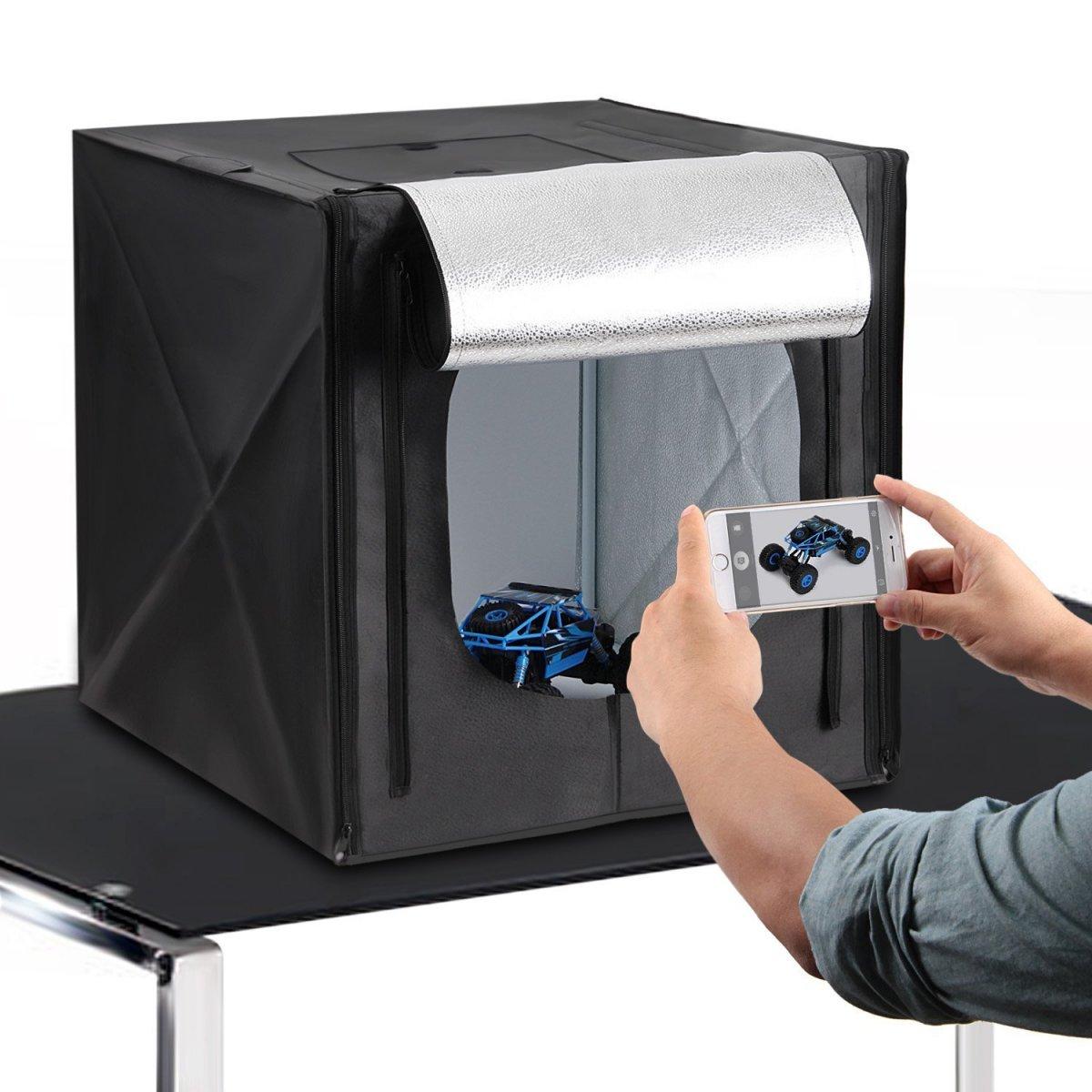 Portable Photography Studio: The Light Box