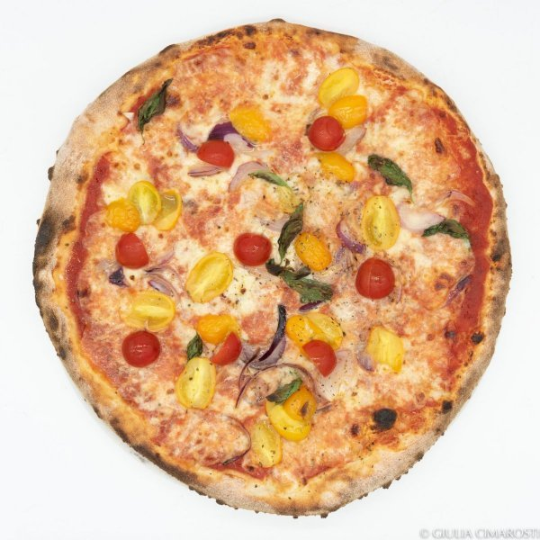 Portable Studio Food Photography - Pizza